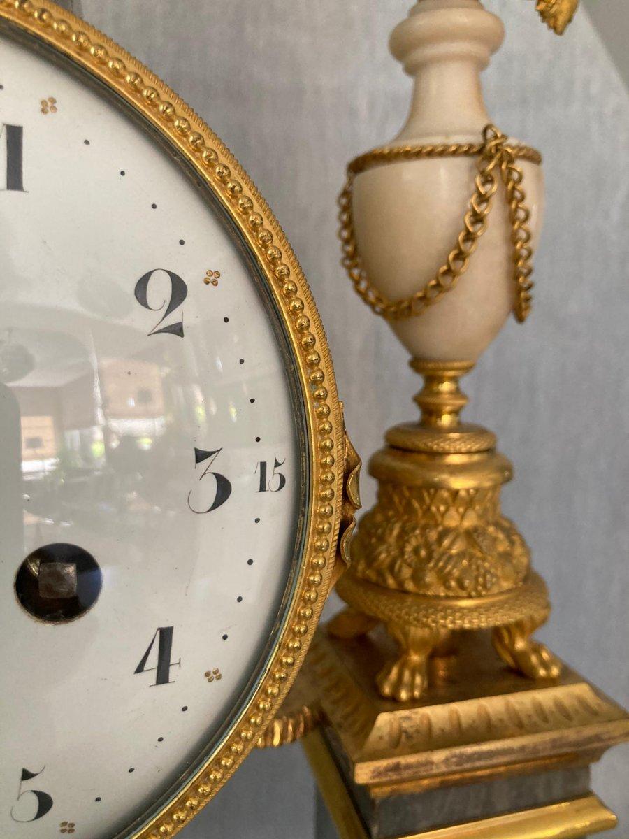 Louis XVI Pendulum By Piolaines In Paris-photo-3