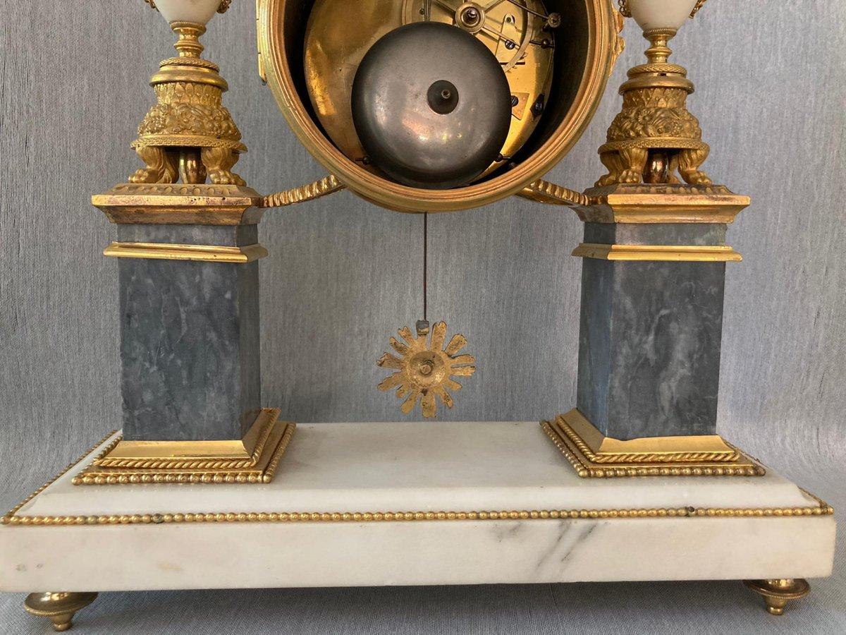 Louis XVI Pendulum By Piolaines In Paris-photo-4