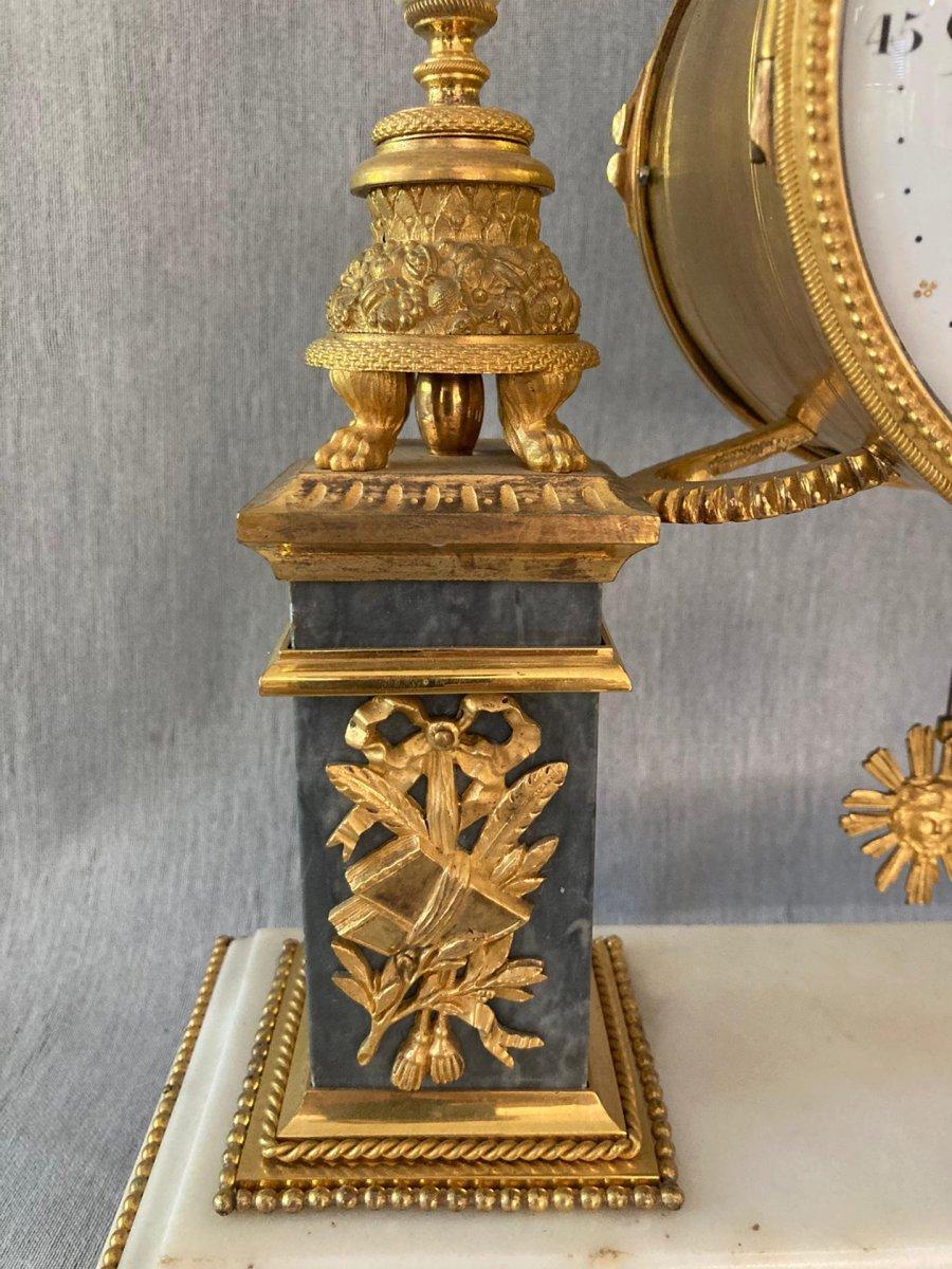 Louis XVI Pendulum By Piolaines In Paris-photo-8