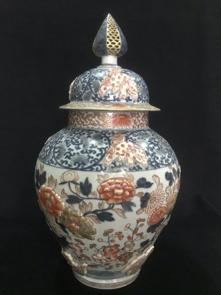 Vase Potiche Japon Imari