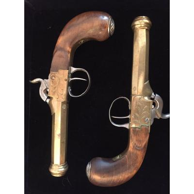 Pair Of Gun Around 1840
