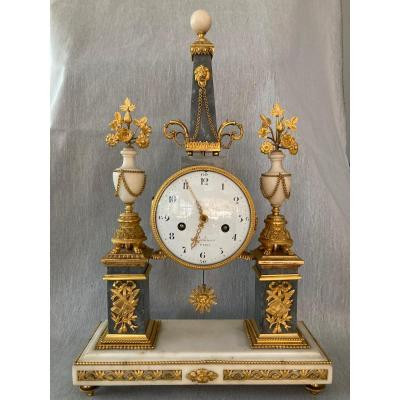 Louis XVI Pendulum By Piolaines In Paris