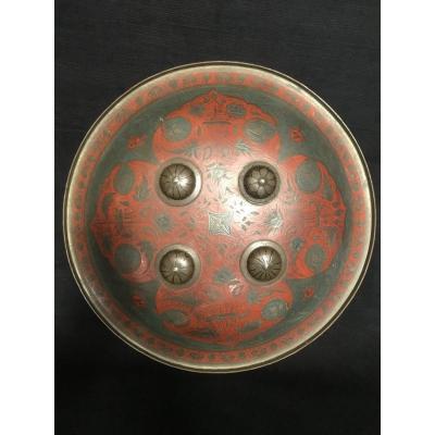 Orientalist Lacquered Shield