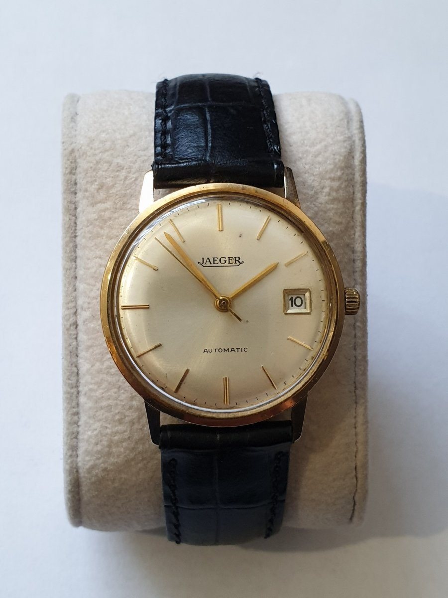 Jaeger LeCoultre Automatic 18k Or Gold