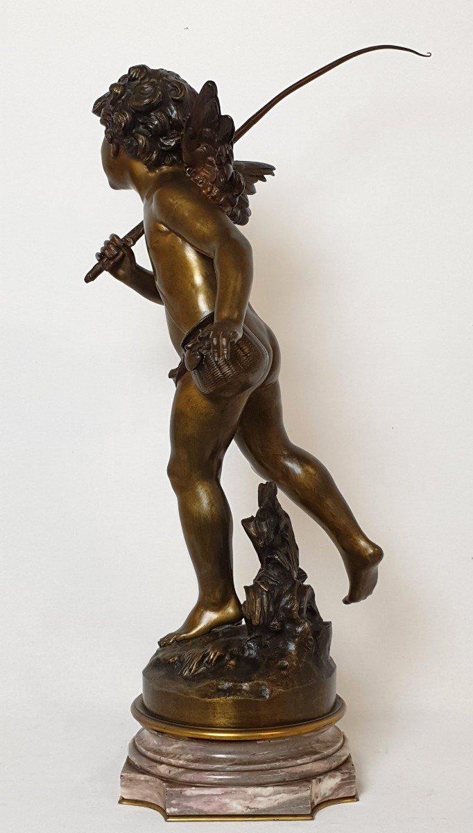 Figure En Bronze Cupidon Auguste Moreau-photo-2