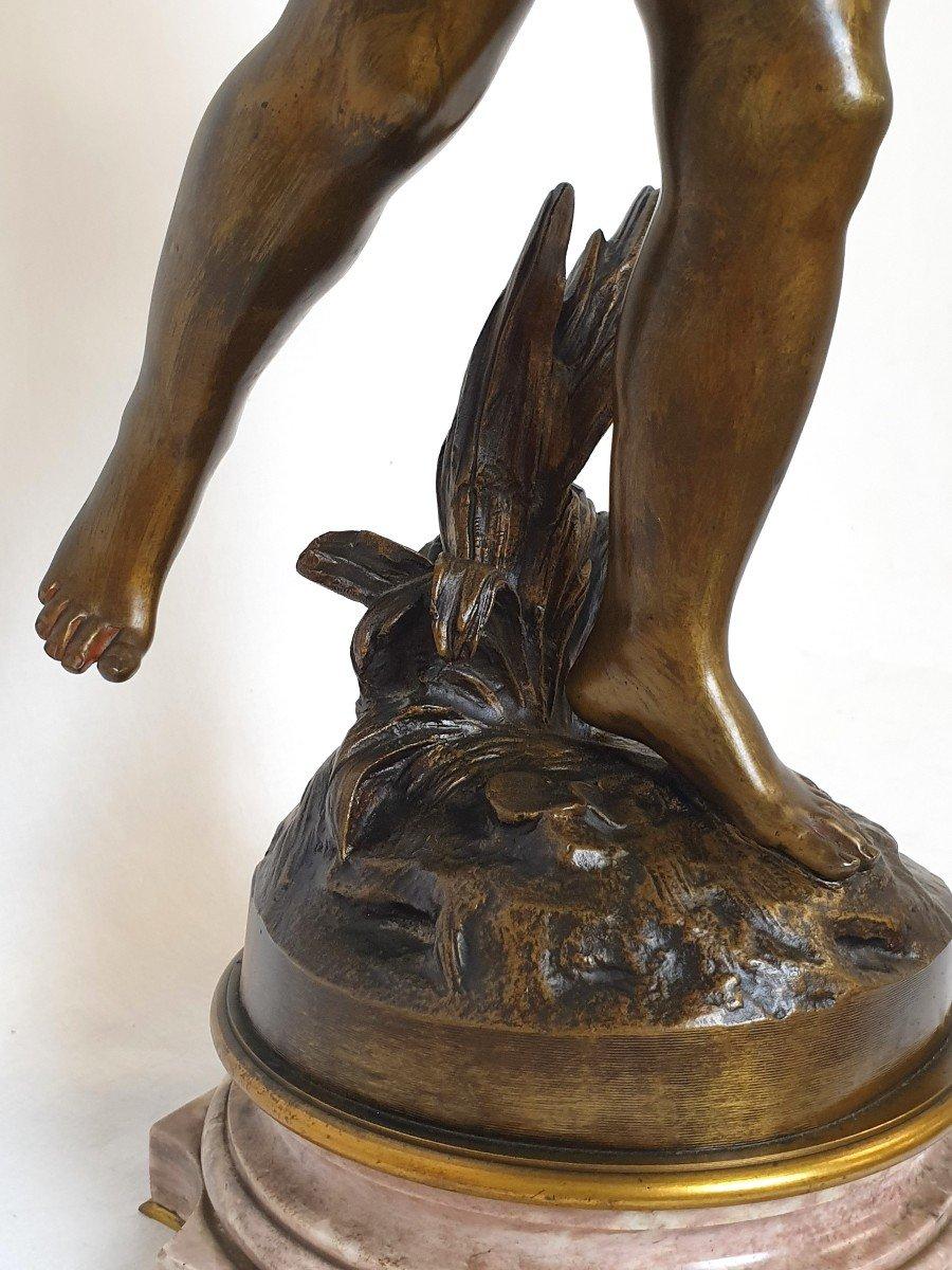 Figure En Bronze Cupidon Auguste Moreau-photo-4