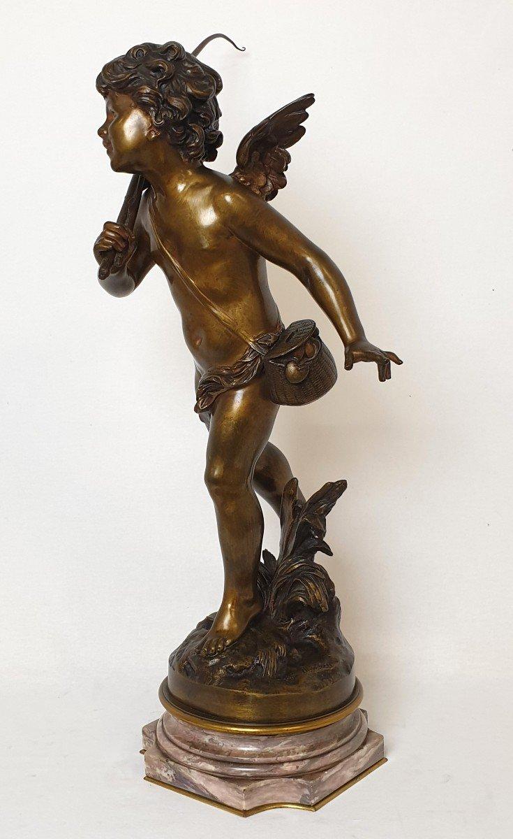 Figure En Bronze Cupidon Auguste Moreau-photo-5