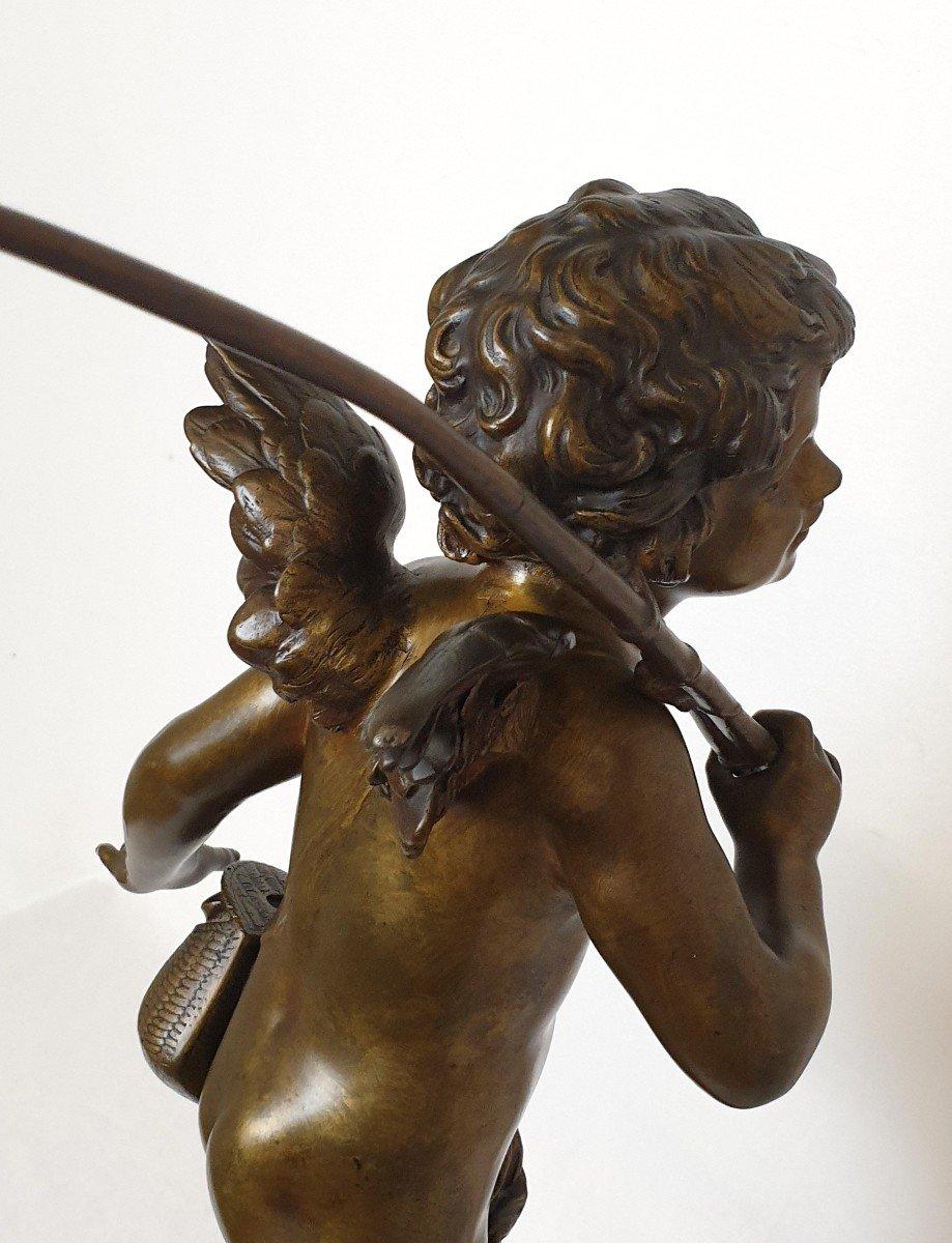 Figure En Bronze Cupidon Auguste Moreau-photo-7