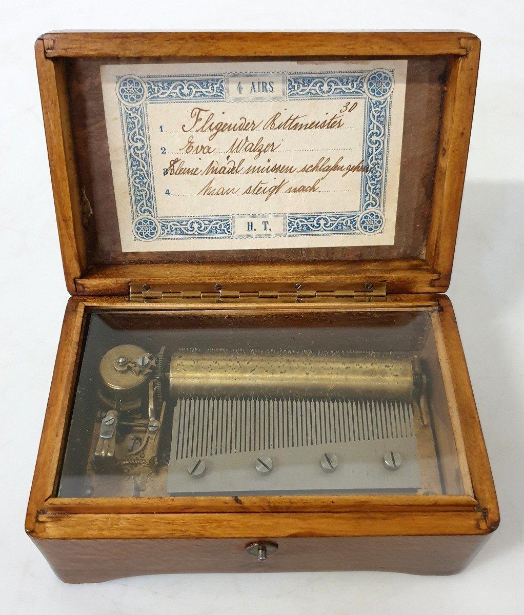 Boite A Musique  Miniature Fonctionnel -photo-1