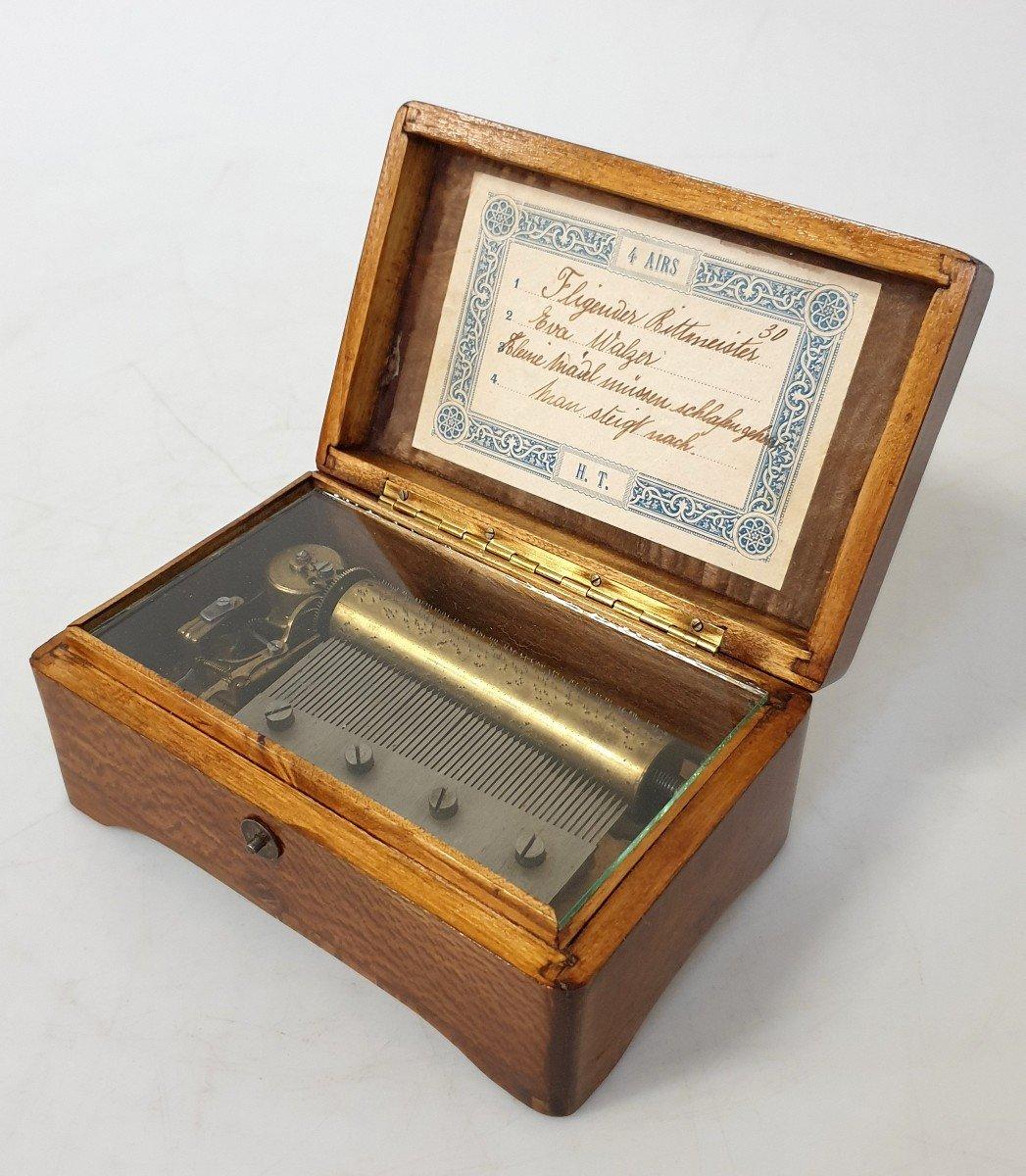 Boite A Musique  Miniature Fonctionnel