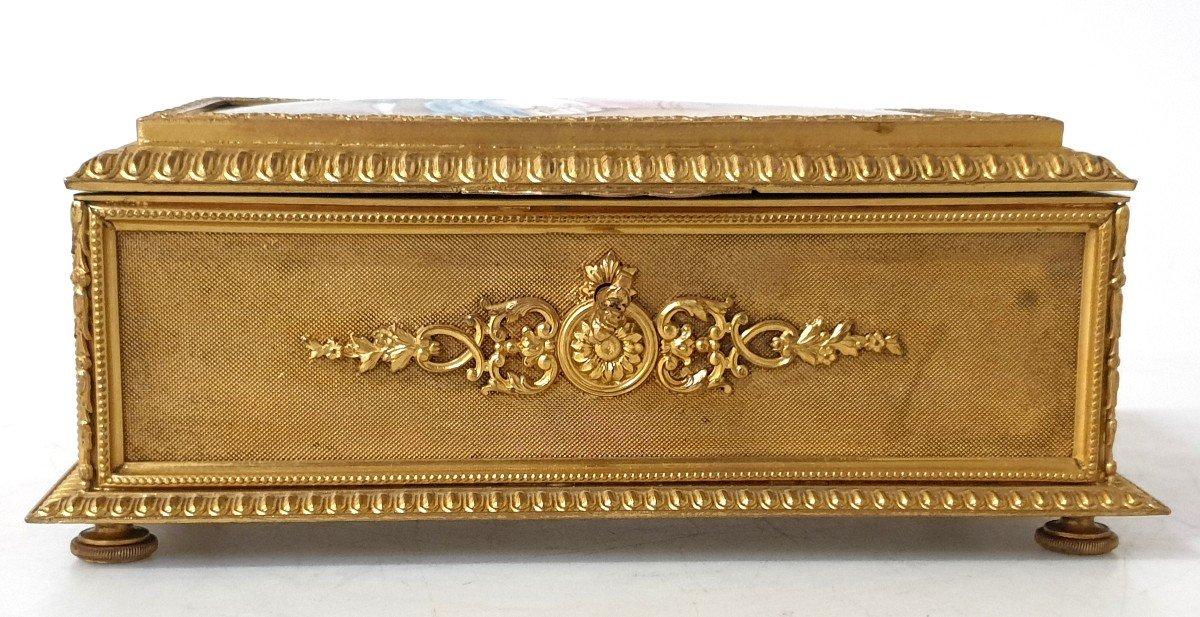 Boîte à Bijoux émail Bronze -photo-3