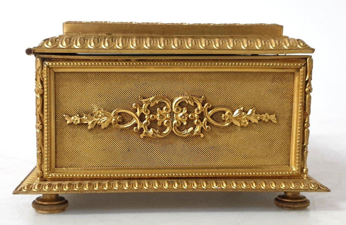 Boîte à Bijoux émail Bronze -photo-4