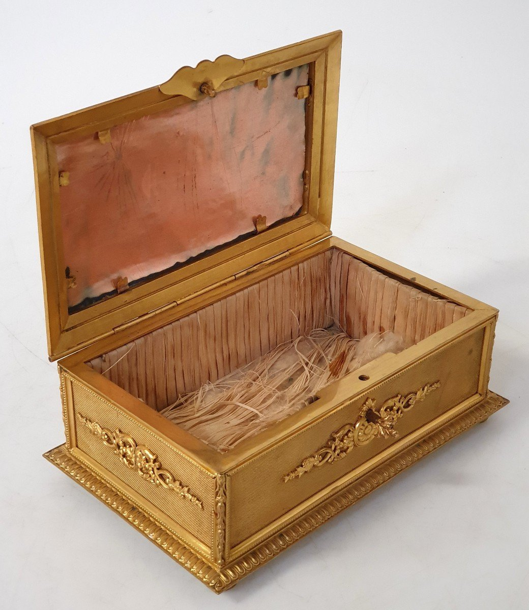 Boîte à Bijoux émail Bronze -photo-7