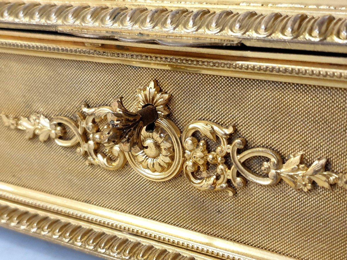 Boîte à Bijoux émail Bronze -photo-8