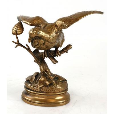 Figure De Bronze A. Dubucand (1828-1894)