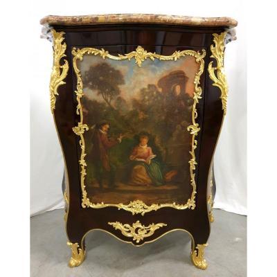 Support Cabinet Louis XVI Pailssandre Oil Painting