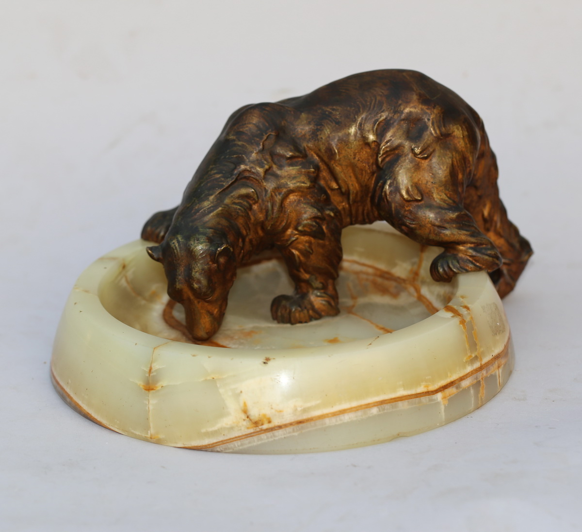 "Start A.titze XX ""sabreuvant Bear"" Bronze"