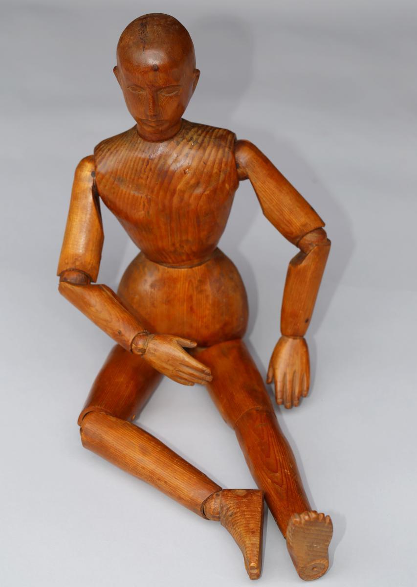Mannequin d'Atelier Fin XIXème