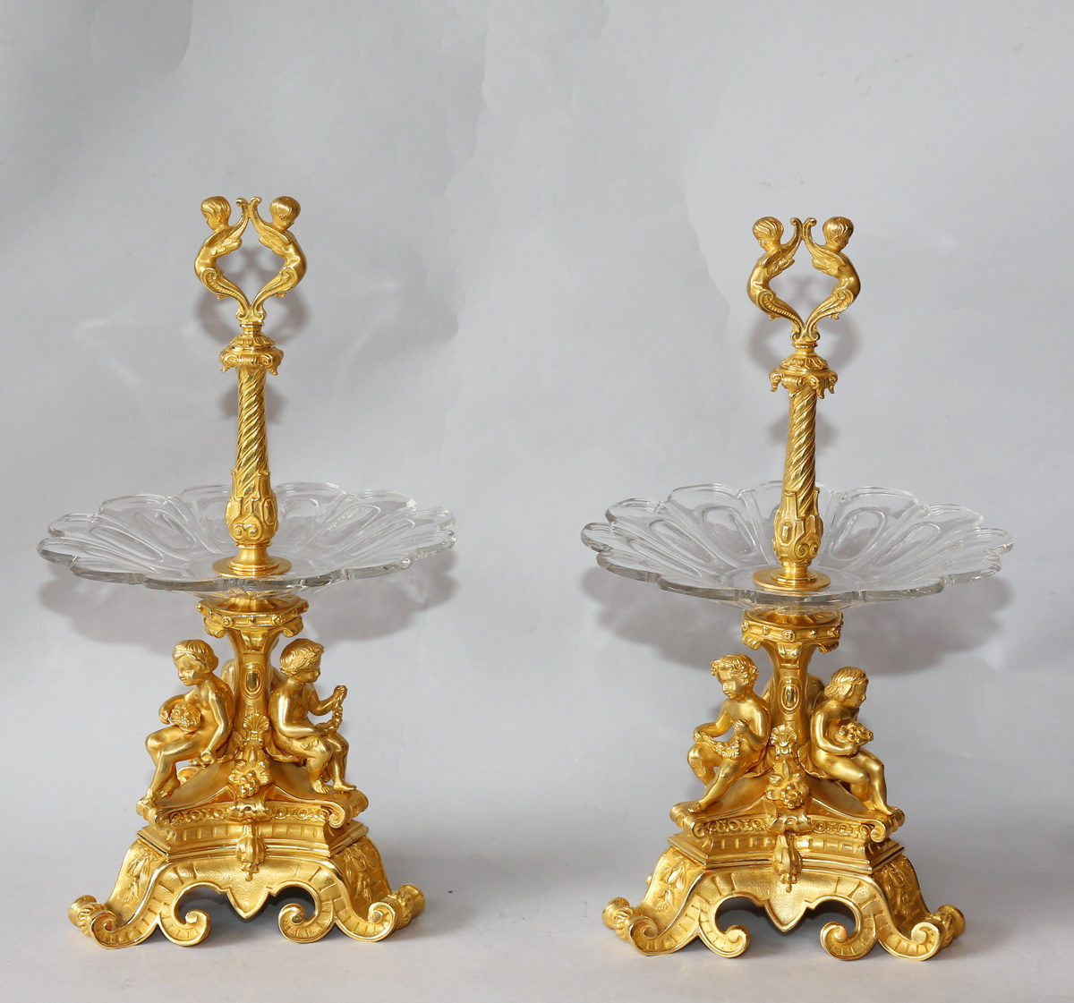 Pair Of Coupes Display Circa 1880