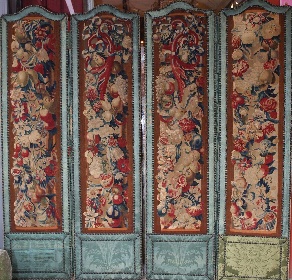 Screen Beauvais Tapestry Fragments XVIII