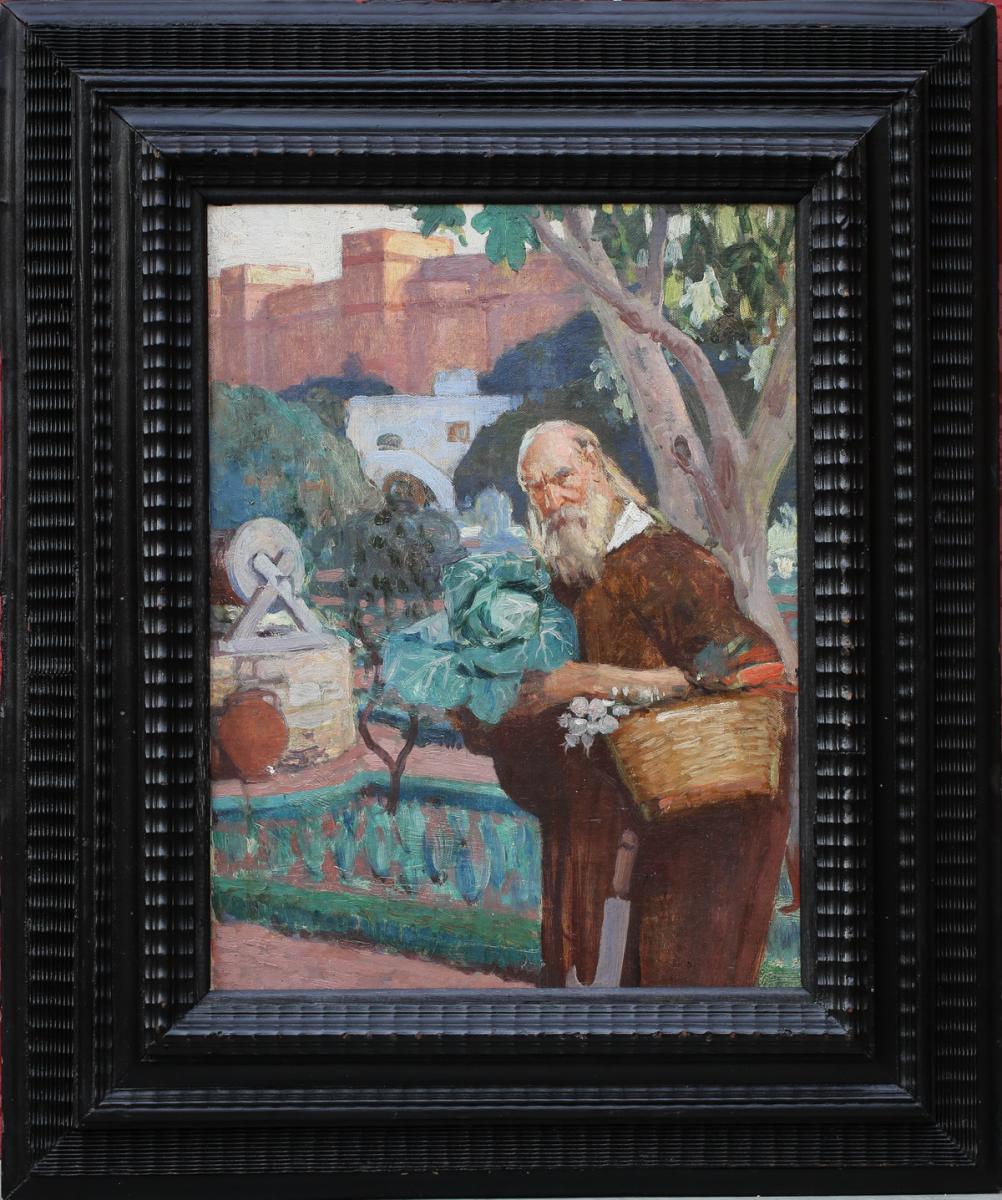 """Maurice Roganeau 1883-1973 """"le Jardinier De Tarente"""""""