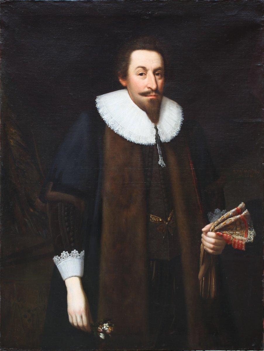 Daniel Mytens, Portrait présumé Du Comte William Herbert-photo-1