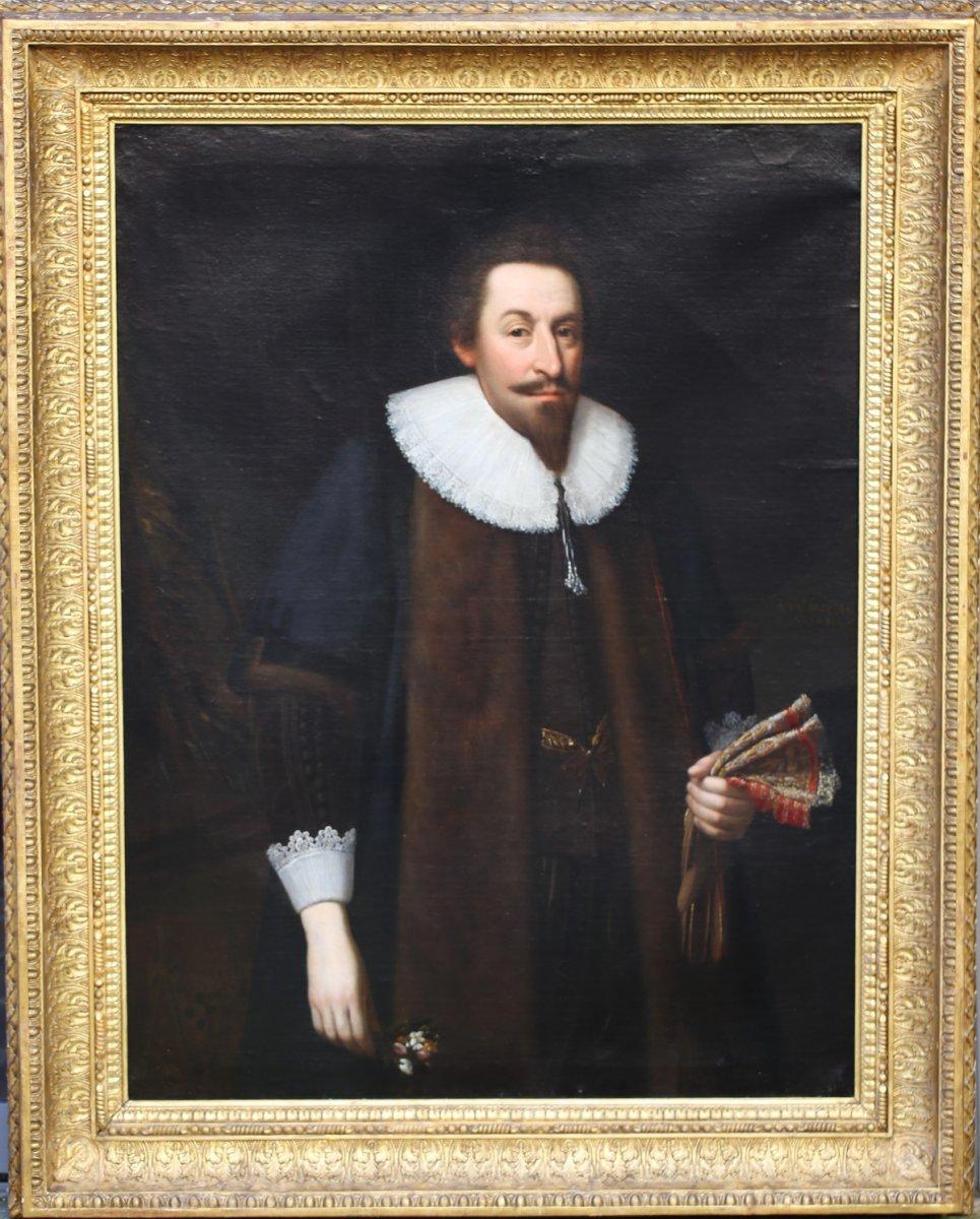 Daniel Mytens, Portrait présumé Du Comte William Herbert