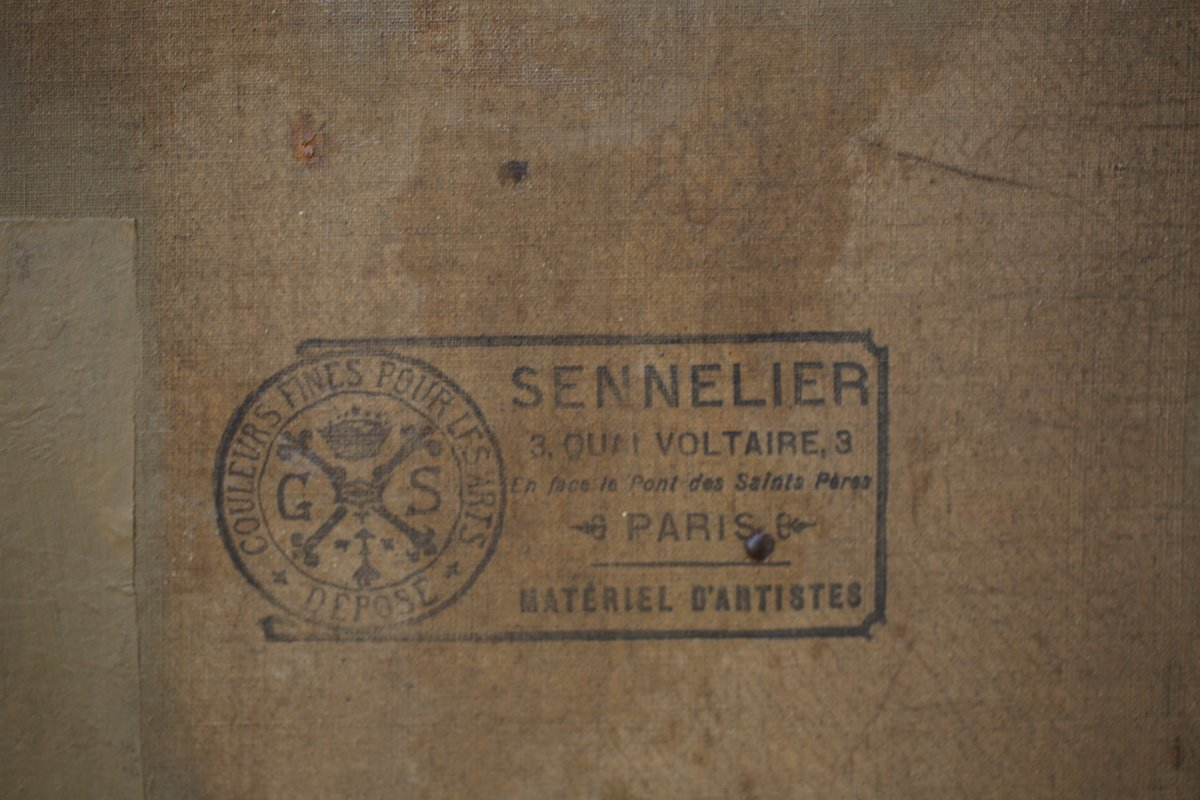 Léon Lhermitte 1844-1925 d'Après, La Paye Des Moissonneurs.-photo-1
