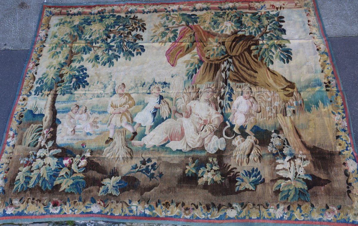 Aubusson Tapestry, Allegory Of Summer.