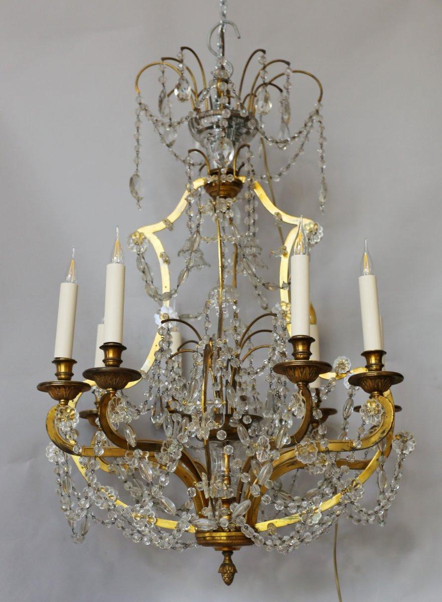 Lustre De Style Louis XVI Circa 1940