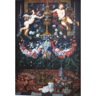 """Guilliam Gabron 1619-1678 """"le Saint Sacrement"""""""