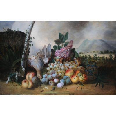 "Louis Vidal 1754-1805 ""nature Morte"""