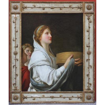 """J.b  Suvee 1743-1807 Et Atelier """"vestale Tuccia"""""""