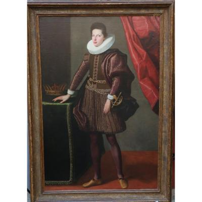 Valore Casini Attribué à, Ec. Ital Du XVIIème, Ferdinand II De Médicis