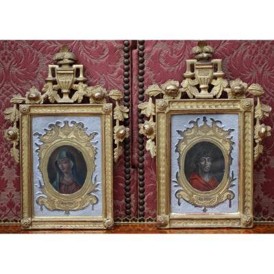 Vierge Et Christ XVIIIe