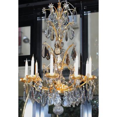 Lustre De Style Louis XV Début XX