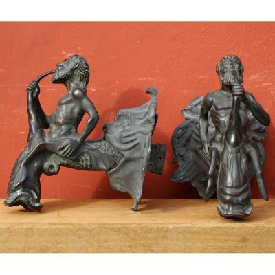 Robinets De Fontaine En Bronze