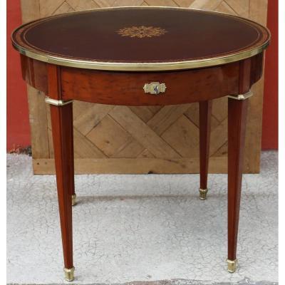 Table Guéridon Style Louis XVI, Signé Durand Circa 1880