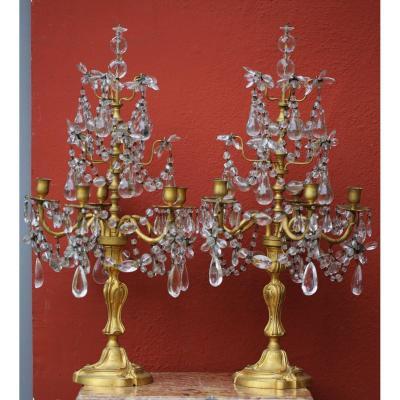 Pair Of Louis XV Style Girandoles