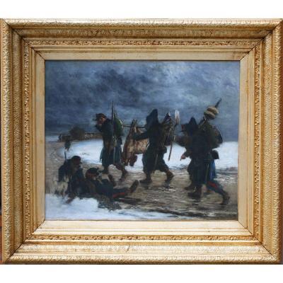Alphonse Marie Adolphe De Neuville (1835-1885) La guerre de Crimée.