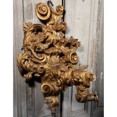 Paire d'Appliques Baroques Italie XVIIIème