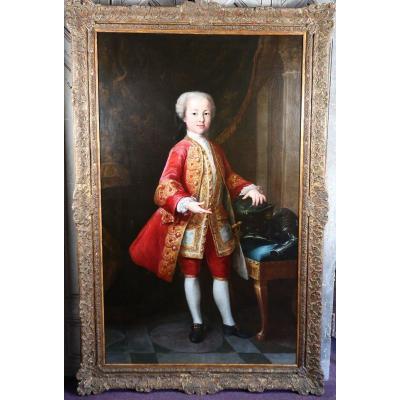 Attribué à Jacopo Amigoni 1682-1752 école Vénitienne, Jeune Prince.