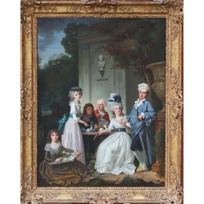 Jean Claude Naigeon 1753-1832,  La Collation.