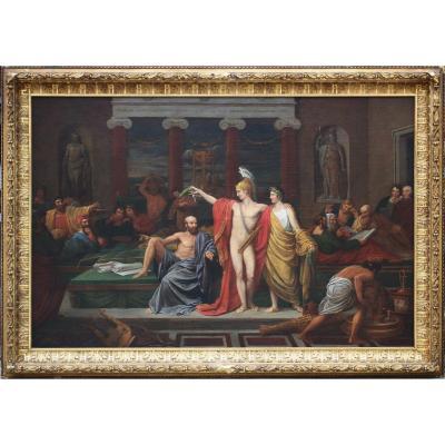 Douglas Thomas Guest (1781-1839/45) Le Triomphe De La Philosophie London 1829.