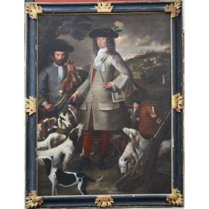 Ecole Italienne Du XVIII, retour de chasse.