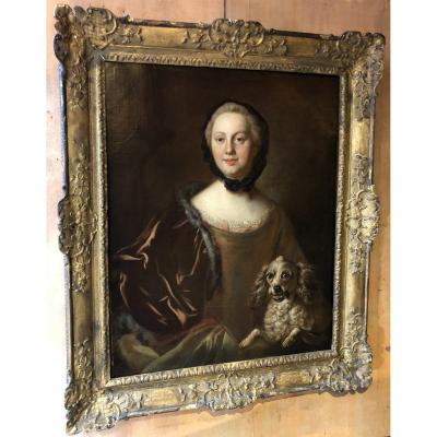 Portrait de Femme, XVIII s.