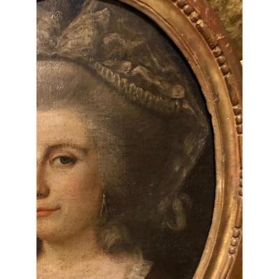 Portrait de femme, 18ème s.