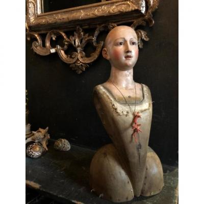 Vierge  napolitaine, XVIII siècle