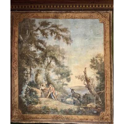 Toile peinte, XVIII siècle