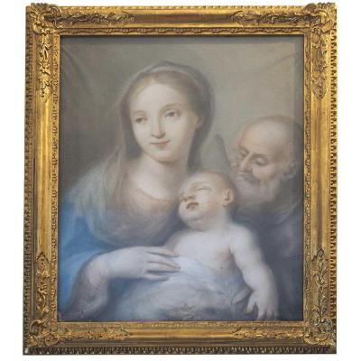 Ecole Vénitienne Du XVIIIème Siècle, Madonna Et l'Enfant